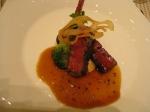 和牛フィレ肉のグリエ